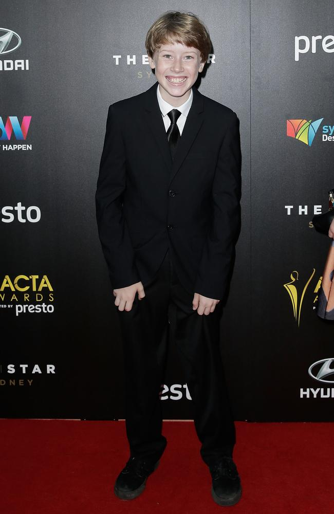 Ky Baldwin arrives ahead of the 5th AACTA Awards Presented by Presto at The Star on December 9, 2015 in Sydney, Australia. Picture: Getty
