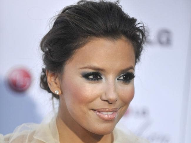 Eva Longoria says starstruck Apple employees have stolen her details in the past.