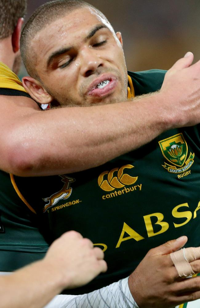 Bryan Habana will play his 100th Test this weekend.