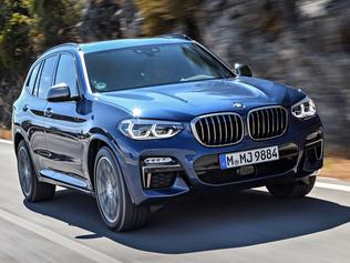 Photos of the BMW X3 (overseas model shown)