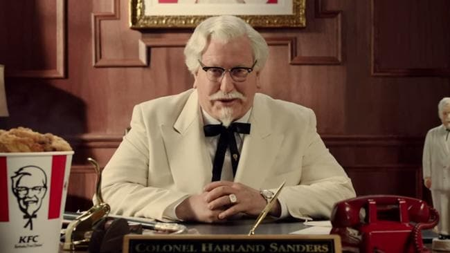 Could this man save the world? Picture: KFC