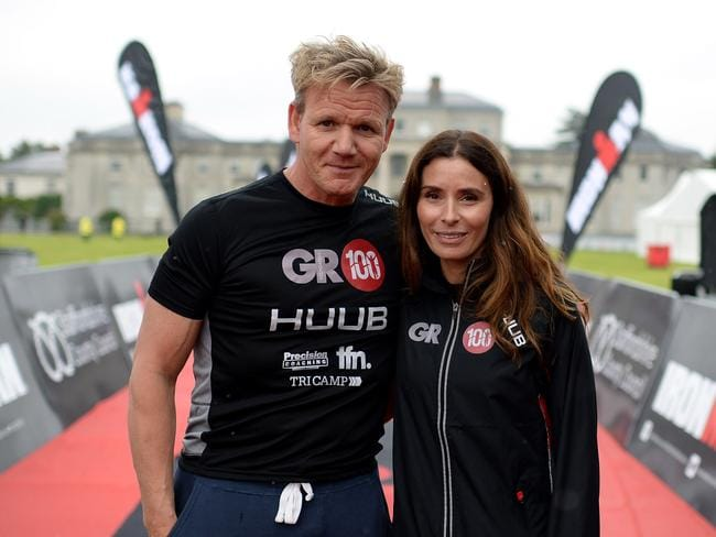 Gordon Ramsay and his wife Tana. Picture: Getty