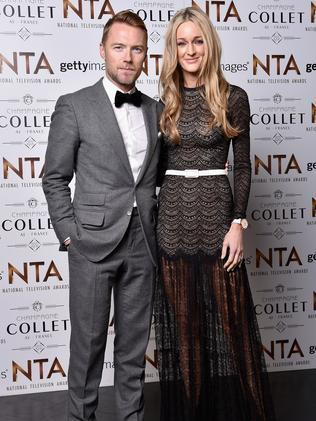 Happy ... Ronan Keating says he's happier than ever' with new wife, Storm. Picture: Gareth Cattermole/Getty Images
