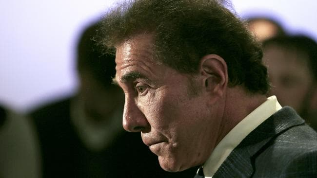 The termination agreement between Wynn and the company bearing his name shows that he won't receive any compensation and can't be involved in any competing gambling business for two years. Picture: AP/Charles Krupa
