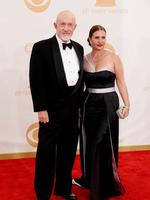 Breaking Bad actor Jonathan Banks and Gennera Banks. Picture: Getty