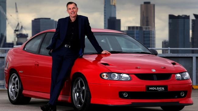 Simcoe's baby, the Holden Monaro.