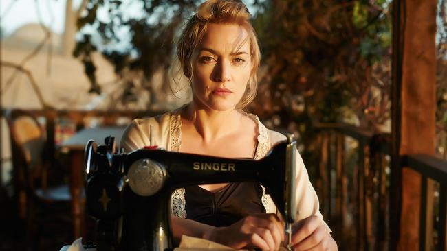Leading the pack ... The Dressmaker movie took the top spot at the box office on the weeekend.
