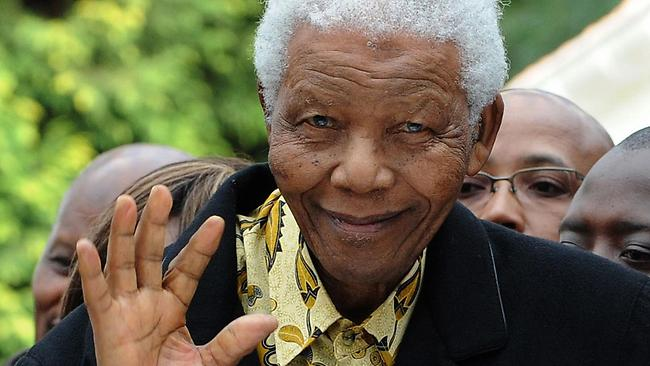 Former South African president Nelson Mandela has been admitted hospital with an abdominal complaint
