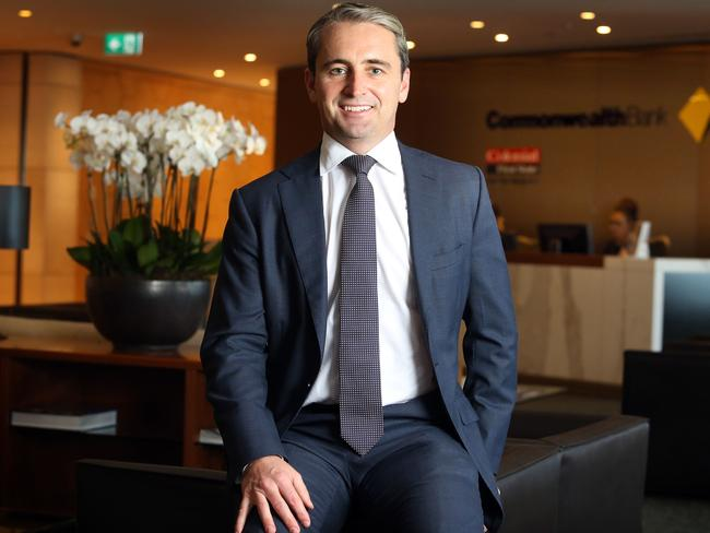 Matt Comyn; the incoming CEO of the Commonwealth Bank, has his work cut out for him. Picture: James Croucher