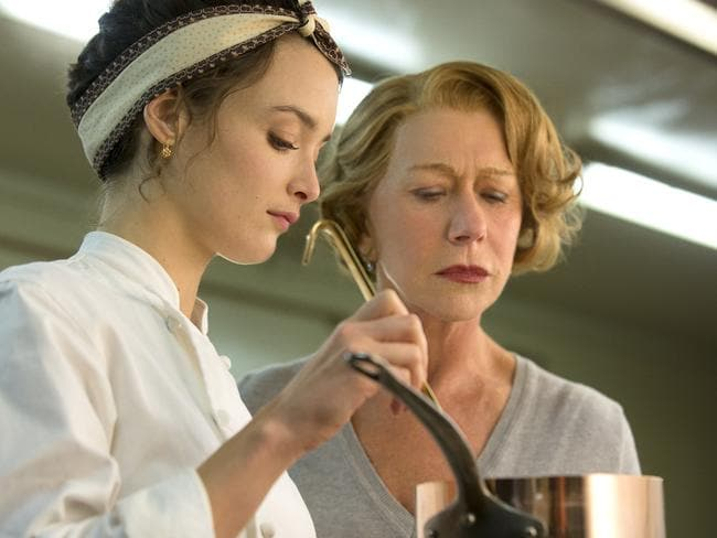 Charlotte Le Bon as Marguerite and Helen Mirren as Madame Mallory aim to cook up perfection. Picture: Supplied