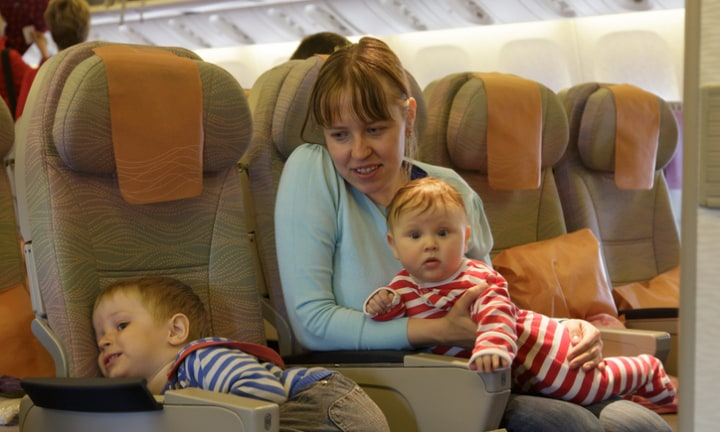 'I had a nightmare flight with a toddler. Here's what I did wrong'