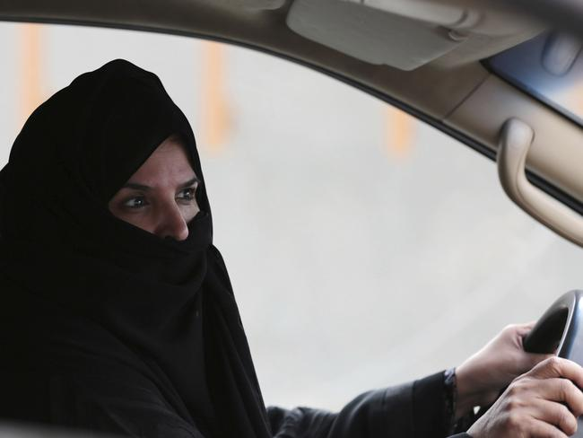 Saudi Arabian women have been given royal permissions to drive. Picture: Hasan Jamali