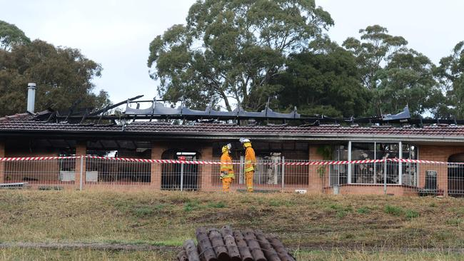 The fire caused around $350,000 worth of damage. Pic: Tricia Watkinson.