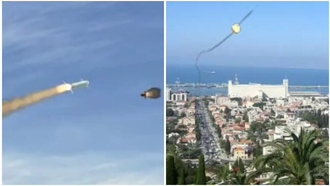 The Iron Dome system only detects missiles that will hit residential areas or other sensitive targets.