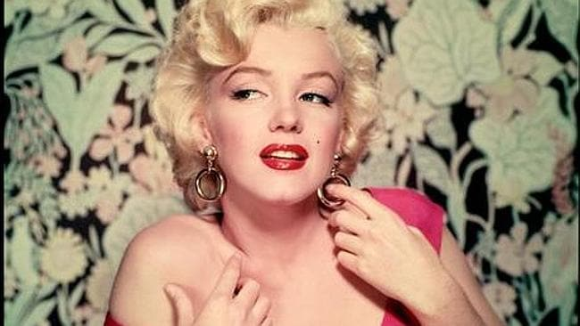 Marilyn Monroe is the new face of Chanel No.5. Picture: Getty
