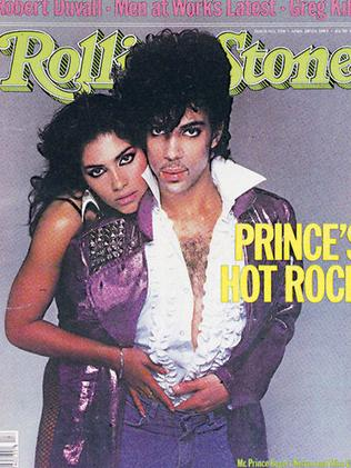 Prince and Vanity Rolling Stone Cover