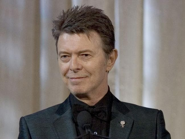 "David Bowie wanted to be cremated in Bali and if that was ""not practical"" then he wanted his remains cremated and his ashes scattered there. Picture: AP/Stephen Chernin"