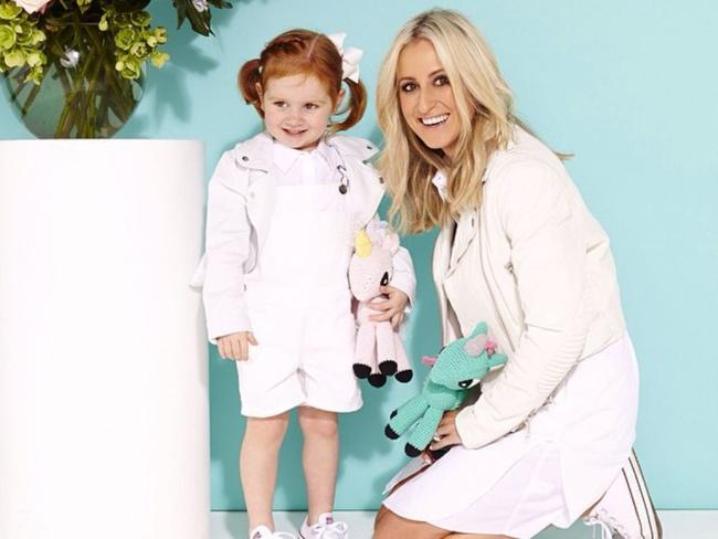 Pixie Curtis and Roxy Jacenko.