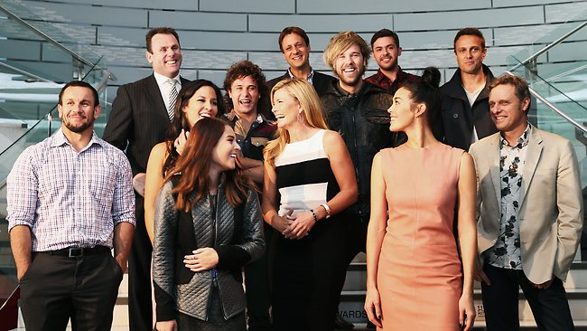 Finalists pose at the ASTRA Awards Finalist announcement event in Sydney. Picture: Getty Images
