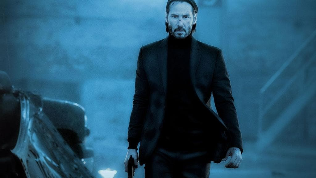 Keanu Reeves returns in John Wick: Chapter 2.