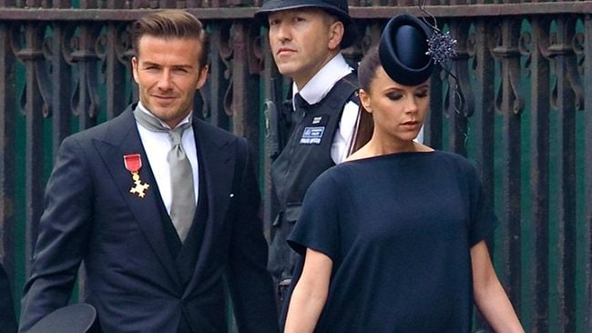Beckhams royal wedding