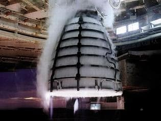NASA just tested its new toy.