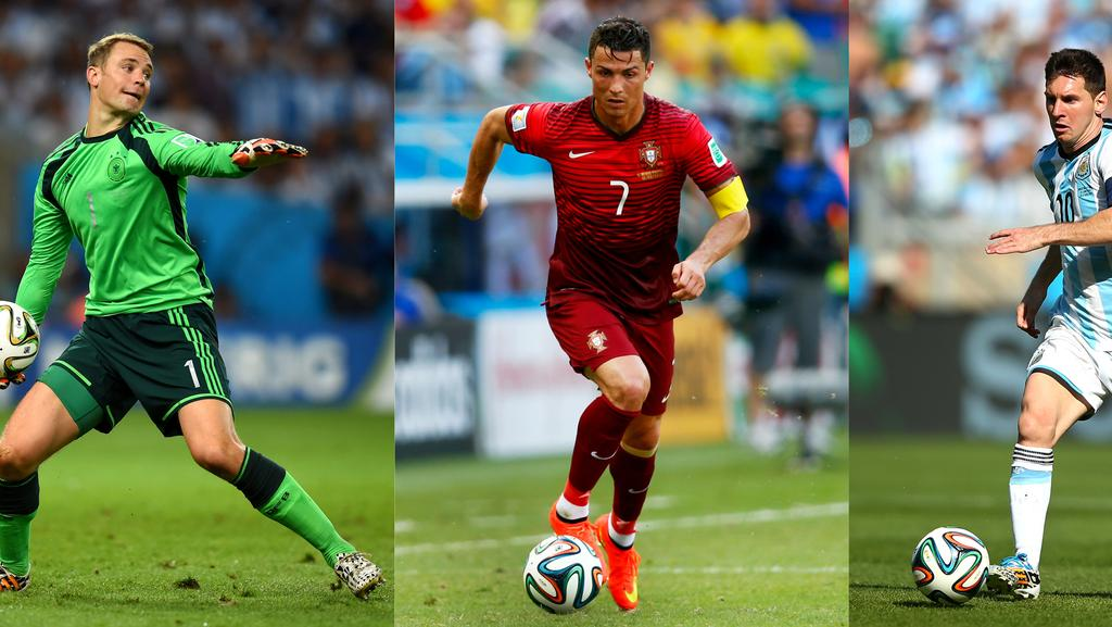ballon d or cristiano ronaldo v lionel Cristiano ronaldo and lionel messi crashed out of the world cup at the  over the weekend, so will there be a new ballon d'or winner this year  his goals against costa rica and mexico have taken him to 57 for brazil (he.