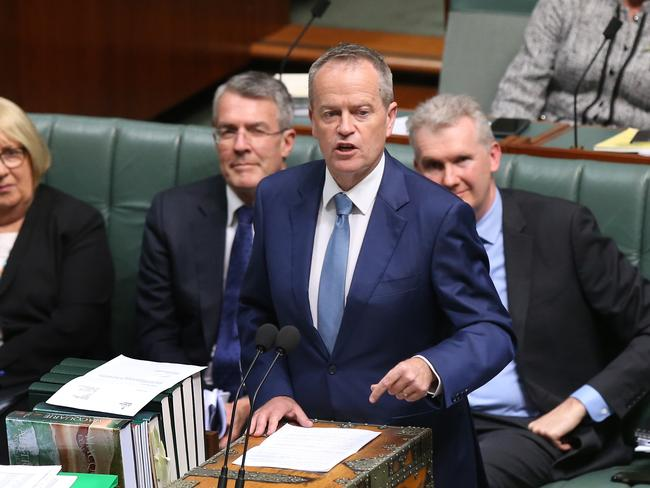 Labor leader Bill Shorten has offered proof he wasn't a dual citizen at the time of his election. Picture Kym Smith
