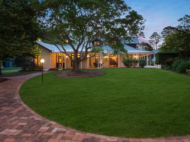 The enchanting property is set just an hour from Sydney. Picture: McGrath Terrigal