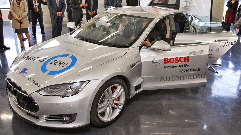 Driverless car built in Melbourne by Bosch engineers at Clayton is ...