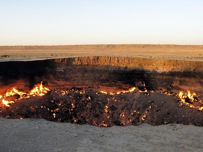 Door To Hell, Turkmenistan. Picture: Rapidtravelchai.