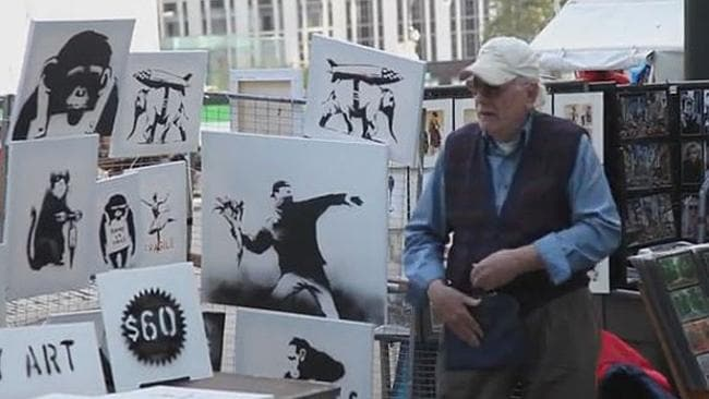 The Banksy Art Stand - COOL HUNTING