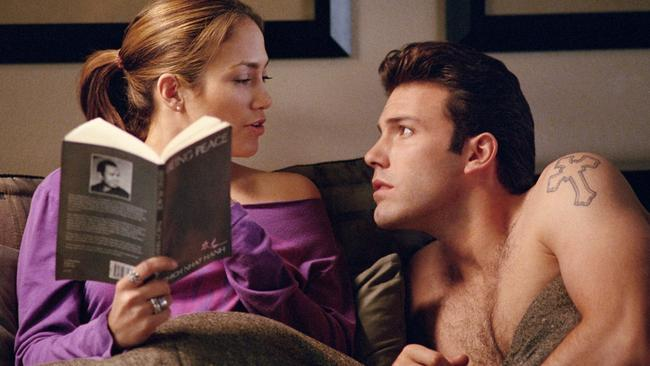 Ben Affleck and Jennifer Lopez made themselves into laughing stocks in Gigli.