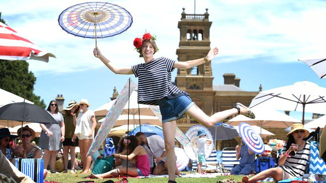 So Frenchy So Chic In The Park is a celebration of French Culture with fine food, music and friends held every January at Werribee Park.