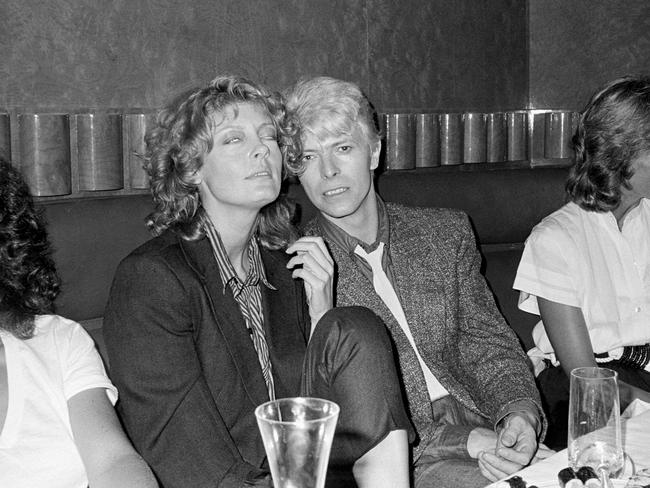 David Bowie and Susan Sarandon had a rumoured romance back in 1983. Picture: The LIFE Picture Collection/Getty Images)