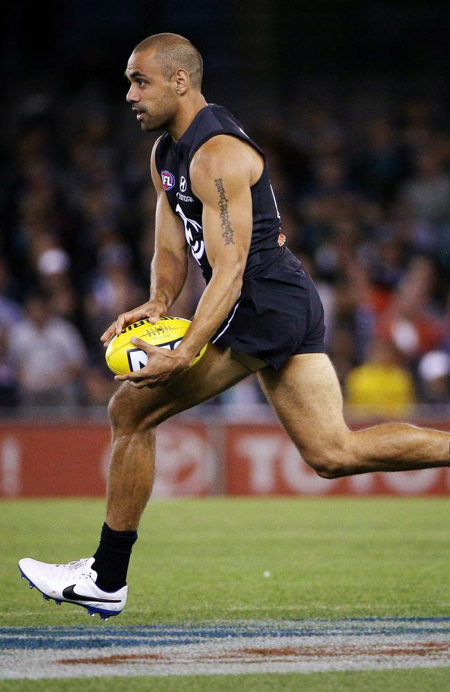 West Coast would love to get an Eagles jumper on ex-WA speedster Chris Yarran. Picture: Colleen Petch
