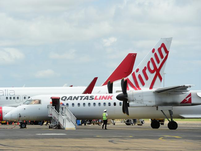More than seven million people have signed up with Virgin's Velocity program, while Qantas' Frequent Flyer program has close to 12 million members. Picture: Evan Morgan