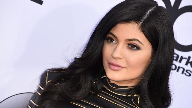 Kylie Jenner recently admitted to having lip fillers. Picture: Robyn Beck