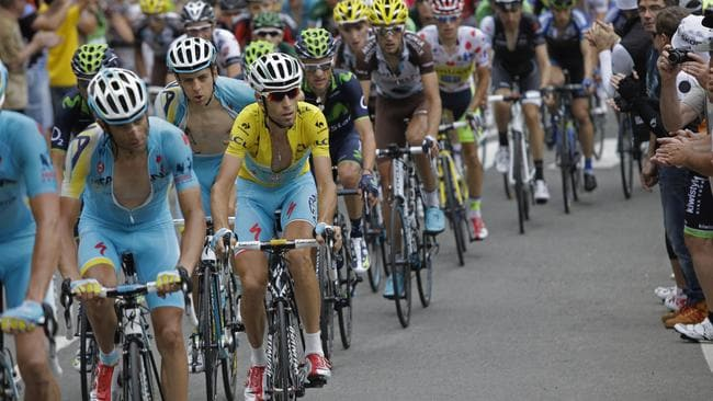 Italy's Vincenzo Nibali has stood out from the pack with his iron grip on the yellow jersey.