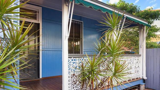 This house at 176 Arthur St, Fortitude Valley, is for rent. Picture: realestate.com.au. Source: Supplied