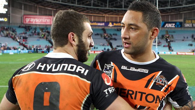 Robbie Farah and Benji Marshall