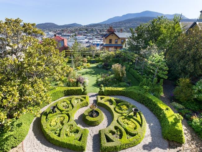 Landscaping Rock Hobart : Stone garden wall parts of which relate to the property s convict