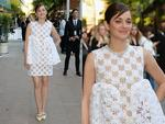 Marion Cotillard arrives at the 2014 CFDA Fashion Awards in New York City. Picture: Getty