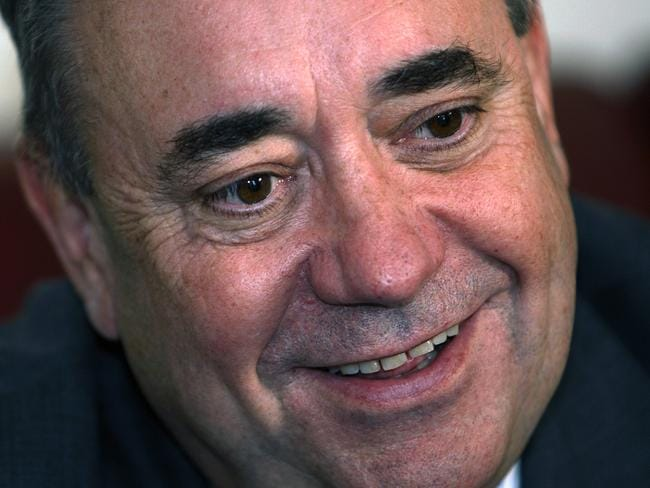 Scottish First Minister Alex Salmond. Picture: AP Photo/Martin Cleaver