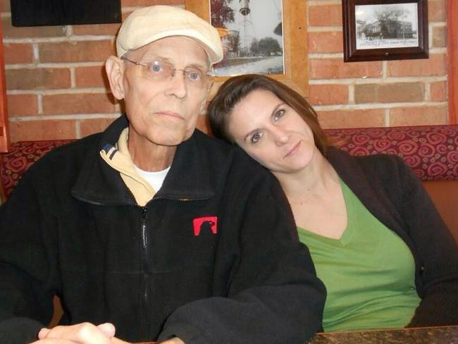 The body of Cari Farver, pictured with her father, has never been found.