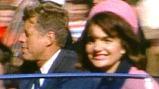 22 Nov 1963: ## NO ARCHIVING REFERENCE EDITORIAL ONLY - USE COULD INVOLVE LEGAL ACTION : Mandatory Credit : AP Pic The Sixth Floor Museum at Dealey Plaza : 8mm home movie released 19/02/07 by the Sixth Floor Museum at Dealey Plaza shows former President John F Kennedy (L) and his wife Jacqueline moments before his assassination in Dallas on Nov. 22, 1963 made by amateur photographer George Jefferies - footage crime o/seas murder victim consipiracy theory