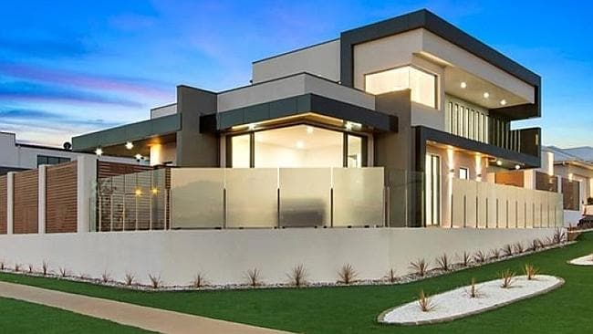 BIDDERS went to $1.025 million for this contemporary home at Weston in the ACT. Picture: realestate.com.au