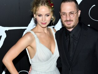 The NY premiere of Mother! at Radio City Music Hall in New York, NY on September 13, 2017. (Photo by Stephen Smith/SIPA USA)  <p> Pictured: Actress Jennifer Lawrence and director Darren Aronofsky <b>Ref: SPL1578239 130917 </b><br /> Picture by: SIPA USA / Splash News<br /> </p>  <p> <b>Splash News and Pictures</b><br /> Los Angeles: 310-821-2666<br /> New York: 212-619-2666<br /> London: 870-934-2666<br /> photodesk@splashnews.com<br /> </p>