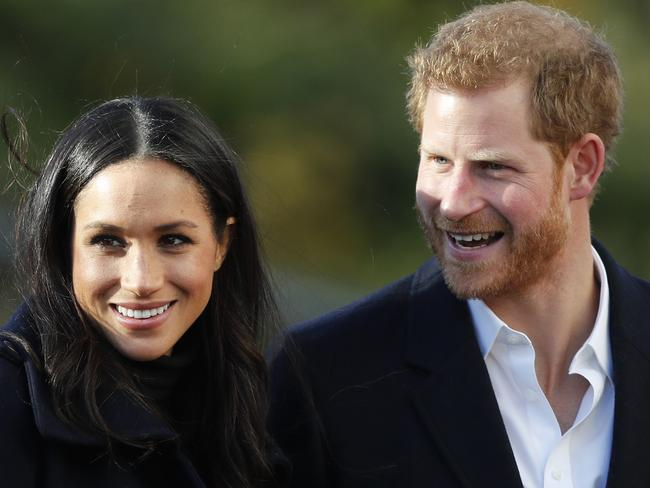 Meghan and Harry are expected to attend the Christmas Day service. Picture: AP Photo/Frank Augstein