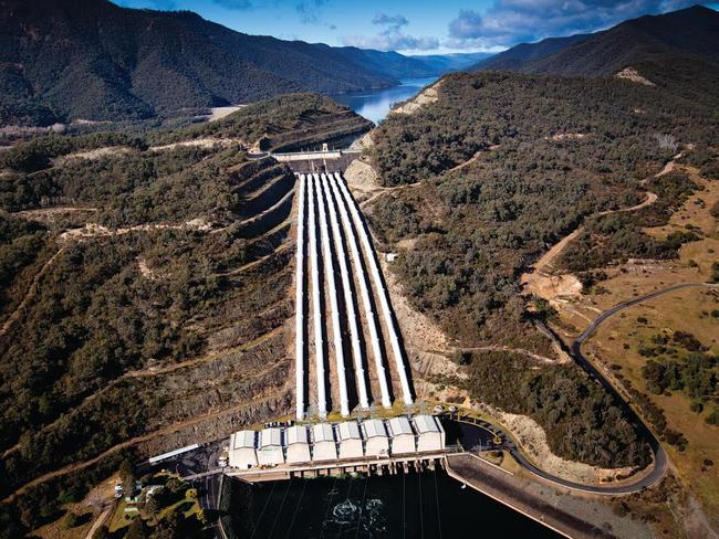 Snowy Mountain Hydro Tumut 3 power station. Picture: Snowy Hydro Limited